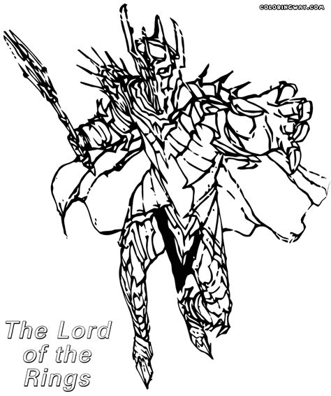 lord of the rings coloring pages coloring pages to