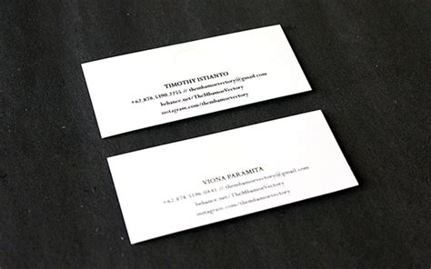 Card Template Darkroom by We Live After Midnight Glow In The Business Card On