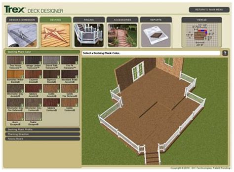 Patio Design Software 31 Best Images About Trex Decks On Deck Contractors Patio And Spiced Rum