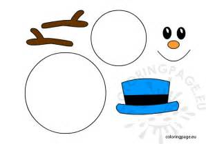 snowman templates to cut out snowman template snowman outline clipart