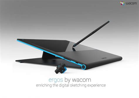tablett design ergos tablet design study for wacom tuvie