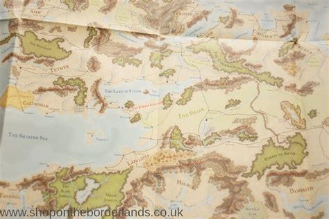map  faerun forgotten realms poster map  shop