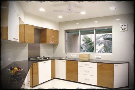 size of kitchen traditional indian design modular