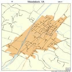 woodstock map woodstock virginia map 5187712