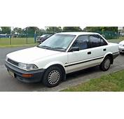1991 Toyota Corolla  Information And Photos ZombieDrive