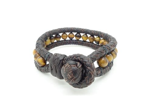 Handmade Leather Bracelets - handmade leather and bracelets 8 quot