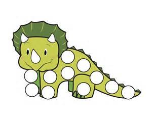 dinosaurs do a dot printables gift of curiosity