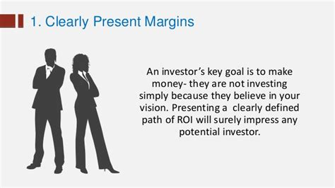 7 Ways To Impress Your by 7 Sure Ways To Impress Investors