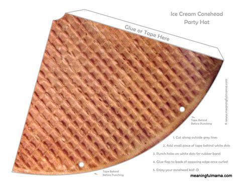 15 best photos of printable diy paper cones free