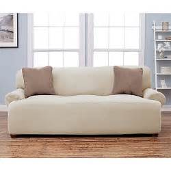 Pillow Arm Sofa Slipcover Stretch Fit Popcorn Texture Protective Sofa Slipcover Bed Bath Beyond