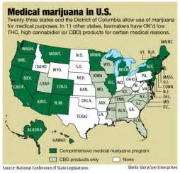 Medical Marijuana States Map by Unlikely Senator Pushes For Medical Marijuana Bill State