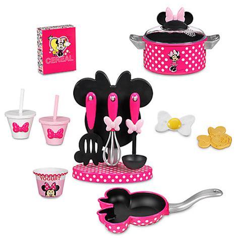 Set Minnie minnie mouse gourmet cooking set disney store