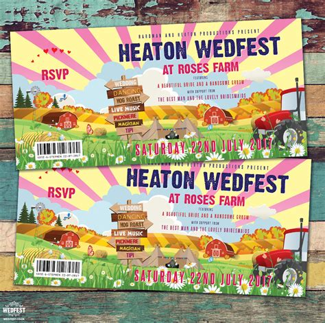 Farm Theme Wedding Invitations farm themed wedding invitations wedfest