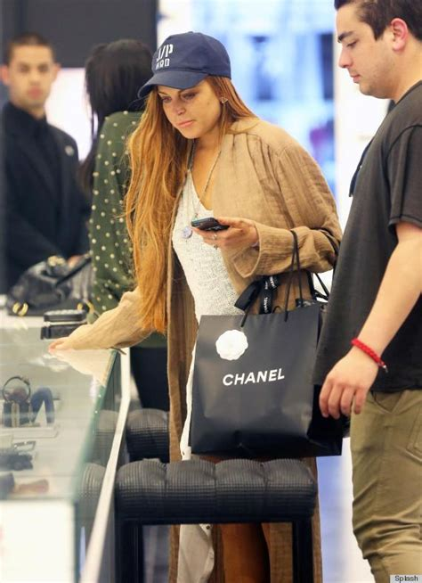Lindsay Lohan Buys More Chanel by Lindsay Lohan Stocks Up On Chanel Right Before Rehab