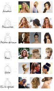 hairstyles type peinados de fiesta para cada tipo de vestido de novia