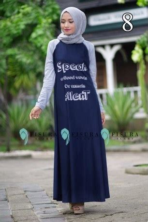 Kanha Dress Katun Rayon fisura speak 8 baju muslim gamis modern