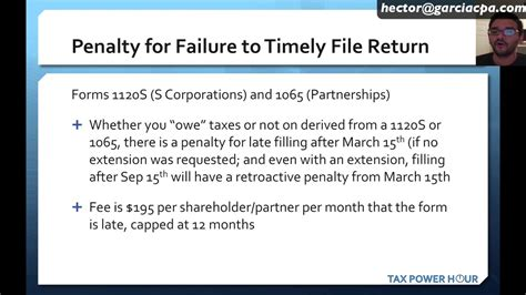 penalties for late filing and payment of your income tax tax power hour irs penalties for late filing and late
