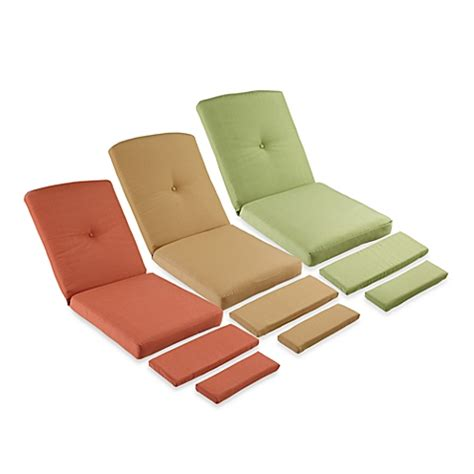 recliner chair cushion mix match stratford wicker recliner cushion bed bath
