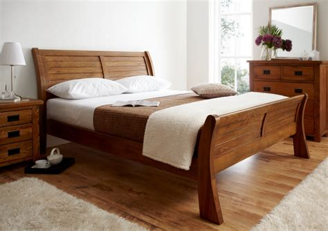 cherry sleigh bed queen full size sleigh bed frame queen cherry sleigh bed design ideas hd photo