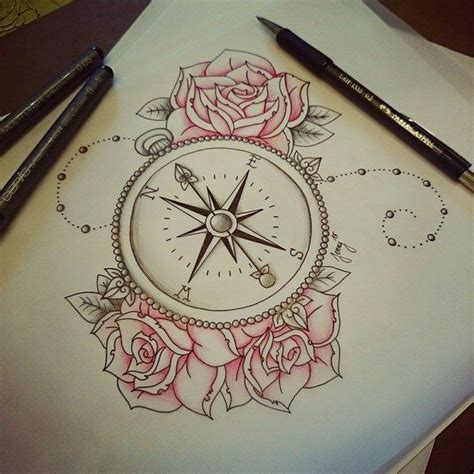 compass rose tattoo traditional on instagram f o l l o w m e o n i n s t a g r a m instagram