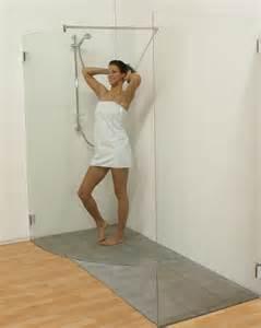 duschen frau walk in duschabtrennung echtglas dusche duscht 252 ren glas wi
