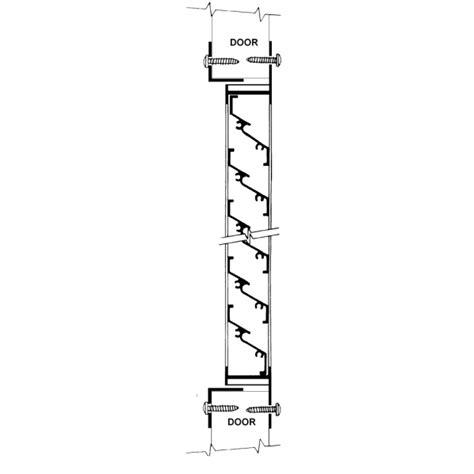 Design My Garage 1400 stormproof aluminum quot z blade quot louver activar