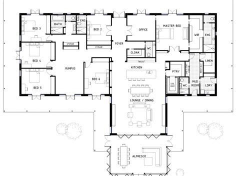 floor plan friday 4 bedroom with rumpus off kids rooms floor plan friday archives page 4 of 4 katrina chambers