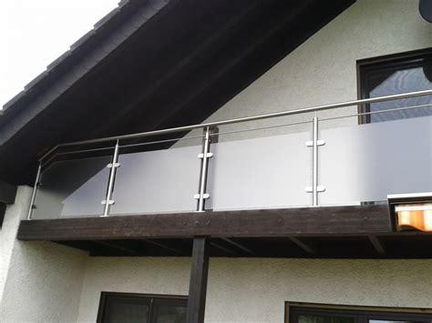 edelstahl balkongeländer mit glas franzsische balkone edelstahl glas das beste aus