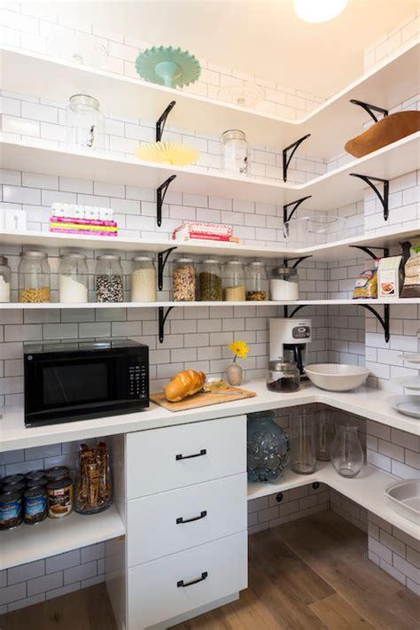walk  pantry transitional kitchen von fitz design
