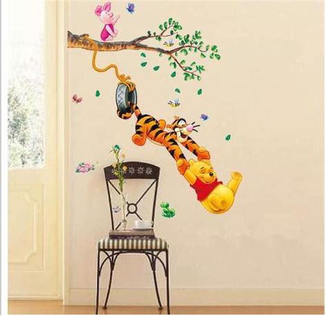 winnie the pooh nursery curtains uk winnie the pooh wall stickers nursery kids baby room vinyl