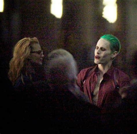 joker imagenes filtradas filtradas im 225 genes del rodaje de suicide squad con el
