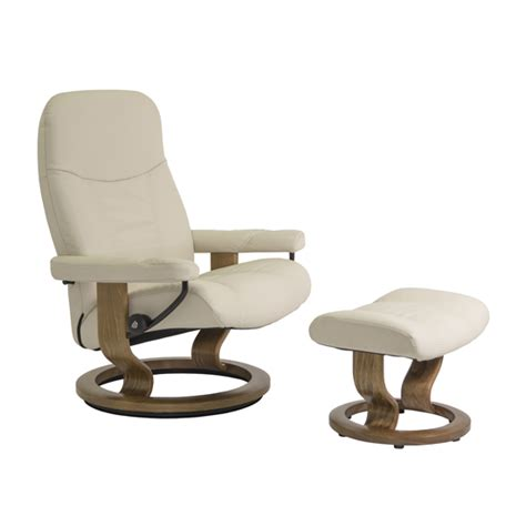 large chair and ottoman consul large chair and ottoman