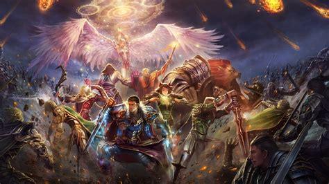 epic battle fantasy  hd wallpaper background image