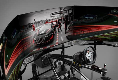 gaming setup simulator vesaro motion racing simulator