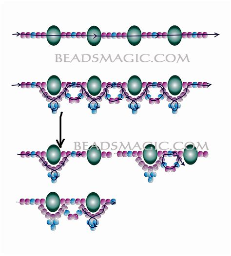 for beading 1000 images about beadsmagic necklaces on
