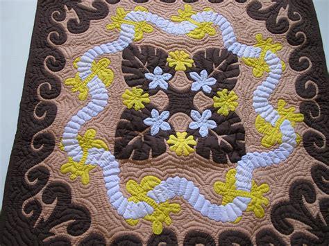 Handmade Hawaiian Quilts - hawaiian wall hanging quilt baby blanket handmade 100