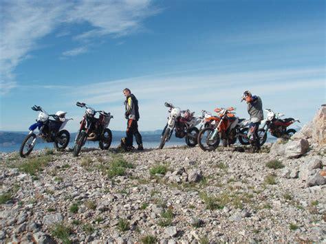 Motorrad Pässe Tour Schweiz by Enduro Tour In Kroatien
