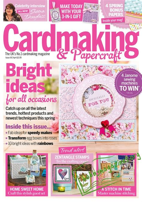 Cardmaking And Papercraft Free Downloads - cardmaking papercraft april 2015 187 hobby magazines