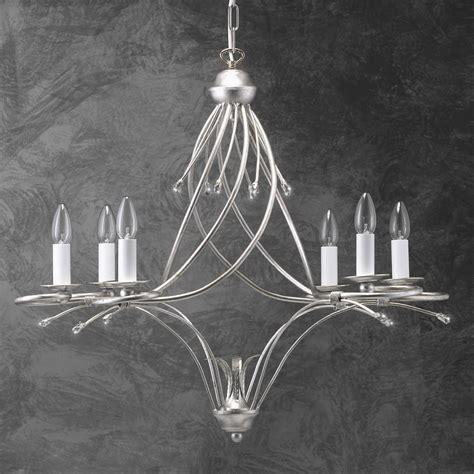 moderne leuchter hochwertiger moderner kronleuchter blattsilber wohnlicht