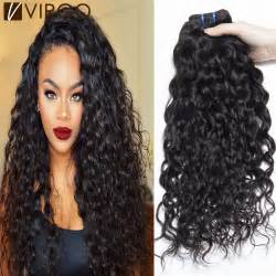 and wavy human hair aliexpress com buy unprocessed wet and wavy human hair