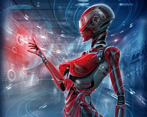 wallpapers futuristic virtual balls android wallpapers download 3840x2160 robot sci fi skills high tech
