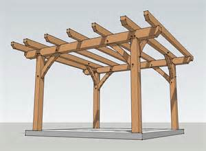 12x12 Pergola by 12x12 Timber Frame Pergola Plan Timber Frame Hq