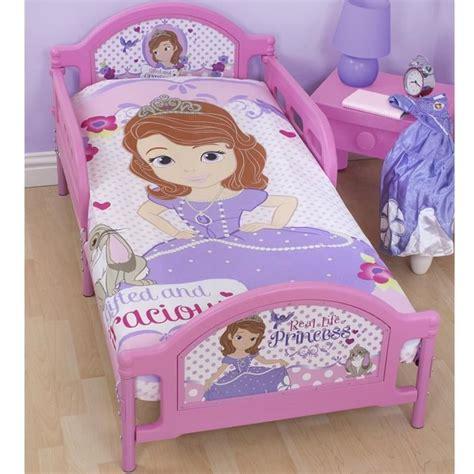 chambre princesse sofia parure de lit junior princesse sofia disney achat