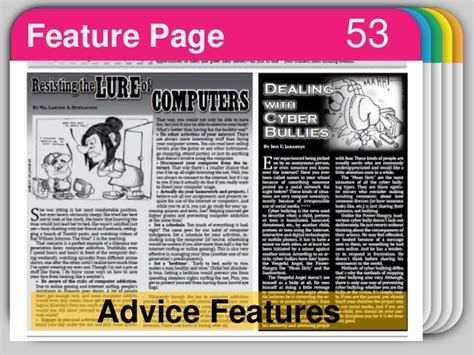 feature article template choice image templates design ideas