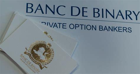 Banc De Binary Canada by Recensione Banc De Binary Opinioni E Conto Demo E