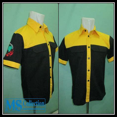 Daftar Baju Seragam Kerja Jual Seragam Kerja Kuning Hitam Srg03 Harga Murah