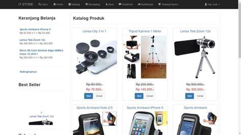 ebook membuat toko online dengan joomla dvd membuat toko online responsive dengan php dan