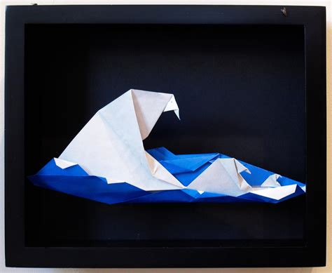 How To Make Waves With Paper - organic origami gallery going origami 240 peterwaves jpg