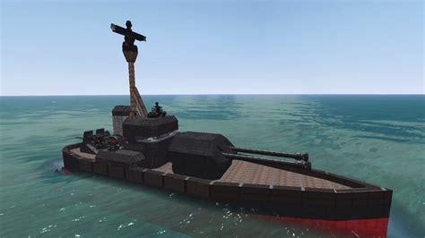 small boat v ship from the depths small ship big guns monitor warship