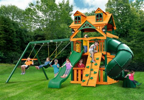 discount swing set accessories lowest price gorilla mountaineer clubhouse treehouse